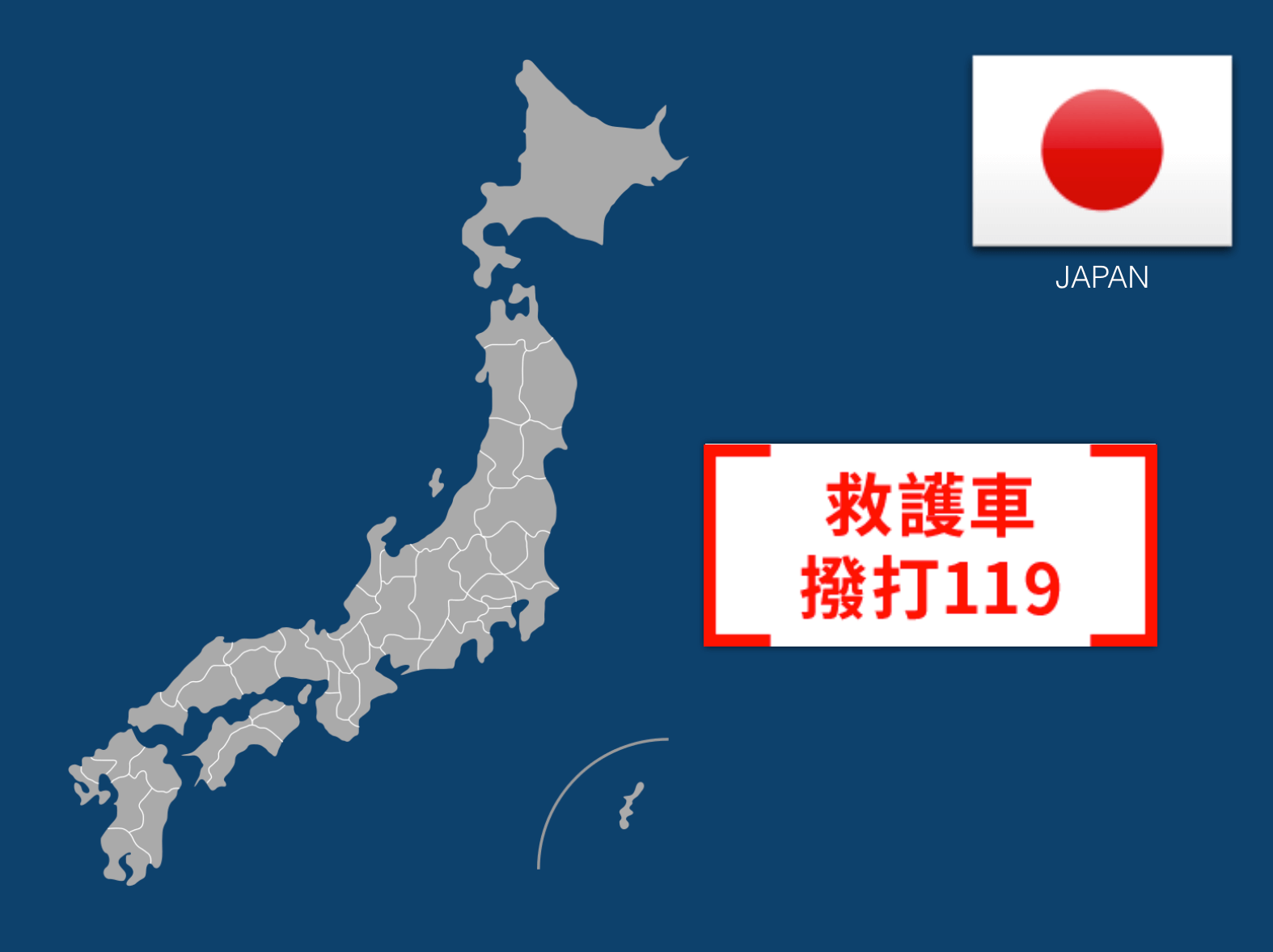 Dial 119 to Call an Ambulance in Japan