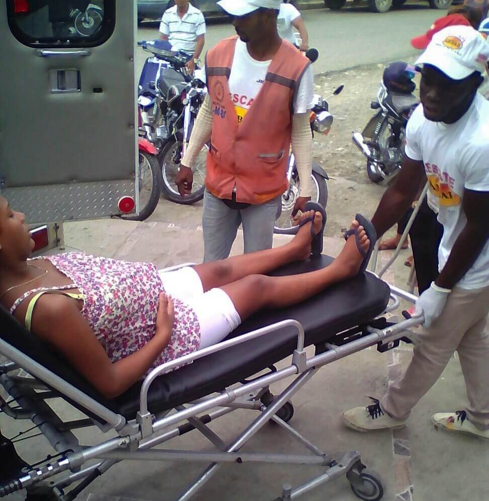 2871: Pregnant Woman Falls from Motorcycle