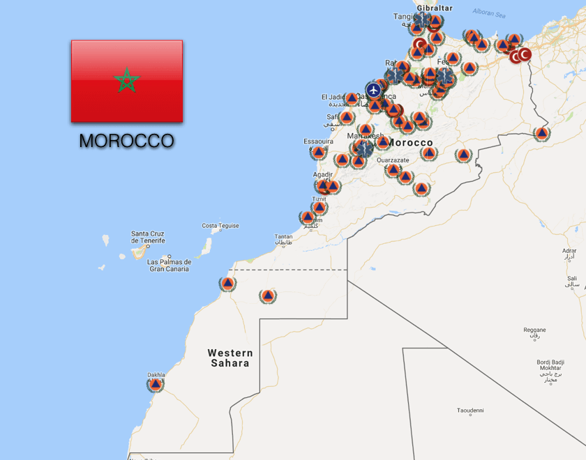 Morocco: Ambulance and Emergency Medical Services
