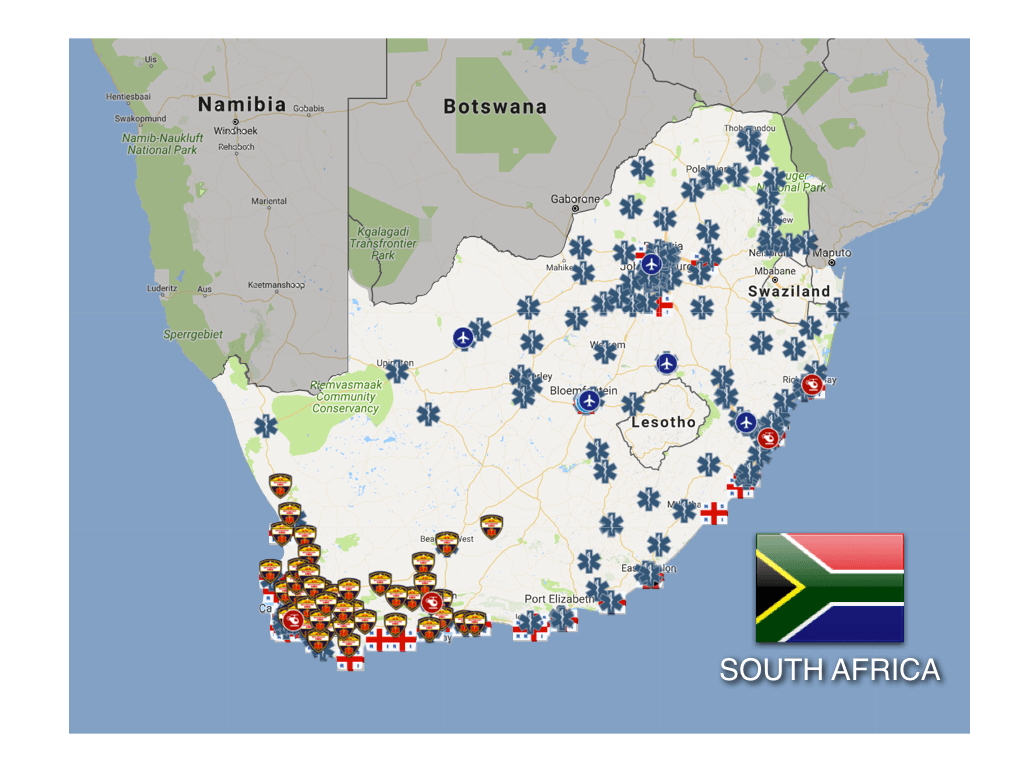 South Africa: Ambulance and Emergency Medical Services