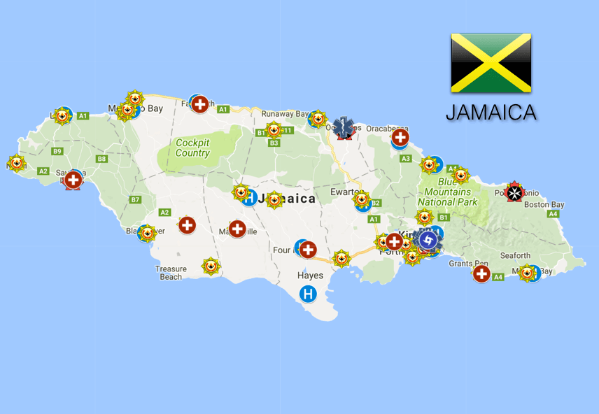 Jamaica: Ambulance and Emergency Medical Services