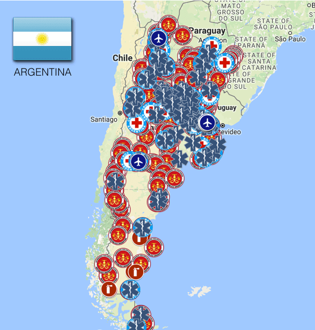 Argentina: Ambulance and Emergency Medical Services