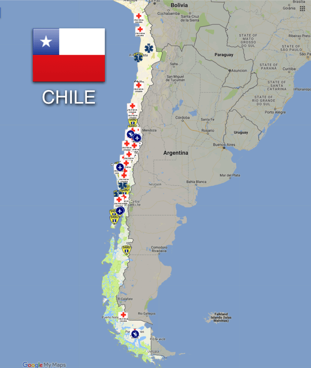 Chile: Ambulance and Emergency Medical Services
