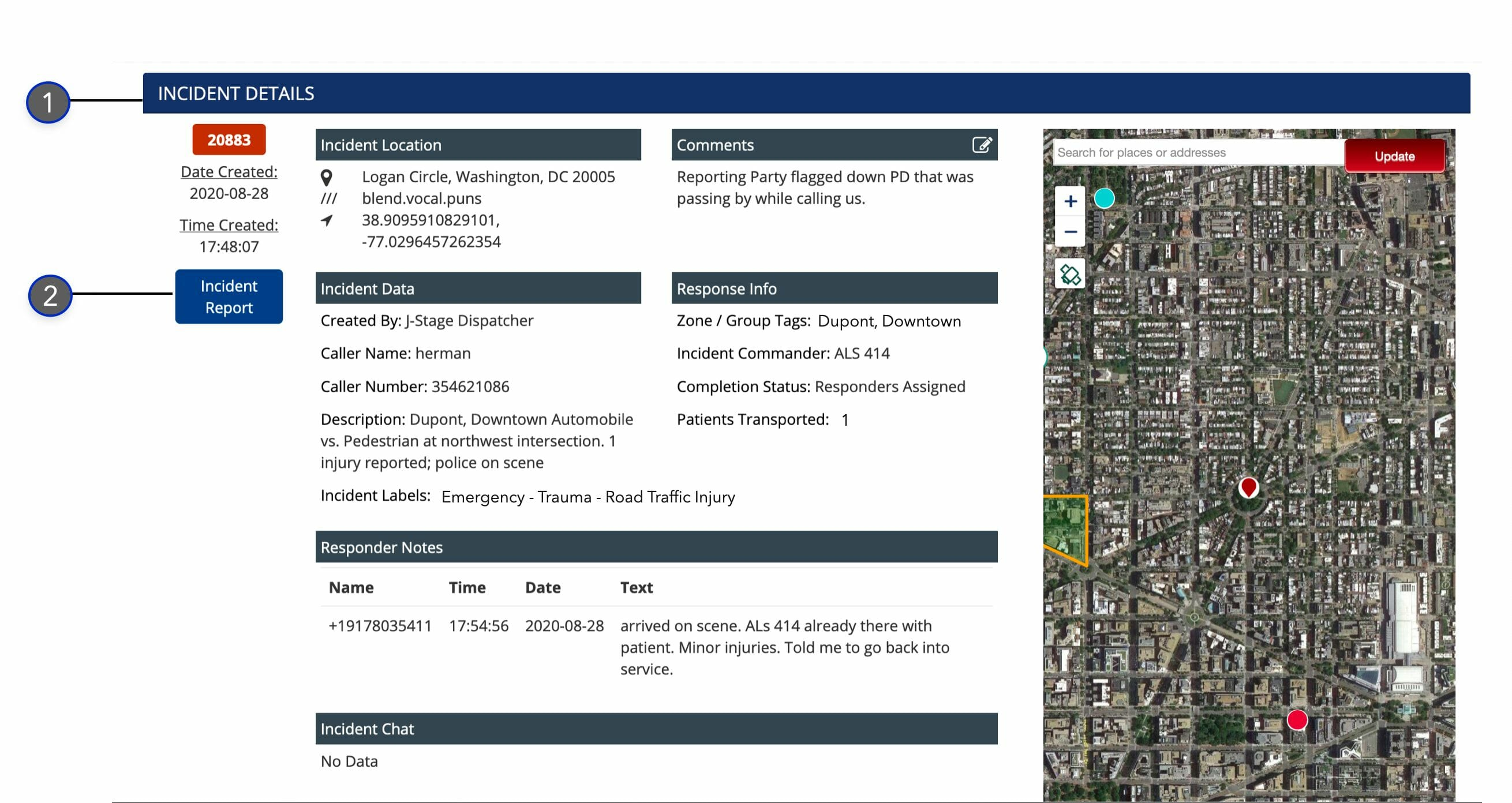 Incident Details and Report_Dispatcher Guide_Beacon v4.0