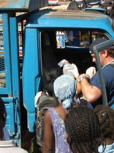 Transport of Septic Baby in Post-Earthquake Haiti